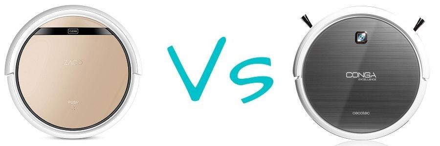 iLife V5s Pro vs Conga Excellence 990